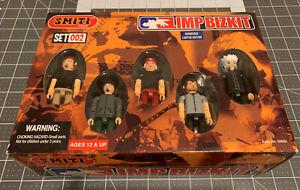 """Smiti LIMP BIZKIT Concert Set #002 - 3"""" Mini Action Figure Limited Edition 2001"""