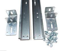 """Garage Door Track For 7' High Door - Pair of Vertical Sections 76"""" in Length"""