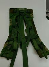 Molle II SDS FRAME Shoulder Straps Woodland Authentic US Army Military Surplus