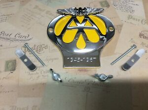 CLASSIC AA CAR BADGE SERIAL 1945 -1967 IN GREAT CONDITION AS PER PHOTO