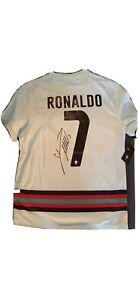 Cristiano Ronaldo CR7 Trikot handsigniert Original Autogramm Nike Portugal