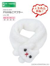 Azone Pureneemo PNM Cat Muffler Scarf White Blythe Momoko Doll Pullip DAL Obitsu