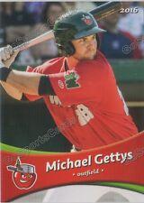 2016 Fort Wayne Tin Caps Michael Gettys RC Rookie Padres Minor