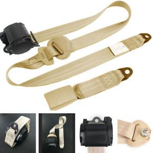 Universal Automatic Adjustable 3 Point Lap Safety Seat Belt for Auto Car Truck