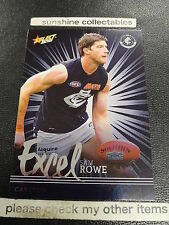 2016 AFL Select Footy Stars Carlton EP37 Sam Rowe Excel Parallel Card