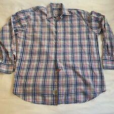 Peter Millar Mens 100% Cotton XL Longsleeve Button Down Formal Shirt