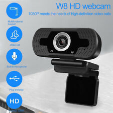 USB 1080P HD Webcam Streaming Camera & Microphone Mic 10M For Computer Laptop PC