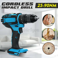 For 18V Makita Battery Cordless Electric Impact Wrench Drill Driver Power