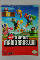 New Super Mario Bros Wii Premiere Edition Prima Guide