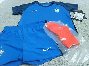 Nike France Home Baby Kit 2016, Shirt,Shorts & Socks, Size: 3-6 Months