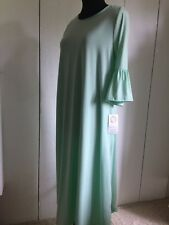 NeeSee's Mint Bell Sleeve Dress Size Small NWT