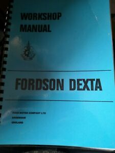 Fordson dexta manual