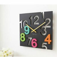 Quartz Wall Clock Modern Home Decoration Hollow Watch Hanging Living Room Clocks
