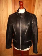 vintage GERMOT Motorradjacke Leder jacket leather motorcycle oldschool 48 M