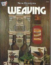 New Designs in Weaving Hazel Pearson Vintage Pattern Instruction Book 1977 New
