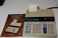Texas Instruments TI-5040II  Electronic Calculator Printer vintage 1982
