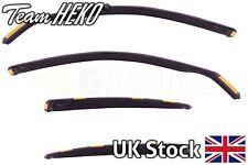 Heko BMW 5 series E60 4door saloon 2004-2010 wind deflectors 4pc TINTED