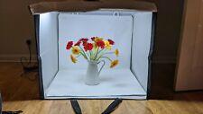 Amazon Basics Portable Foldable Photo Studio Box with LED Light
