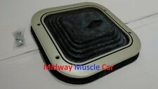 correct manual trans shifter boot & retainer ring 68-72 Chevy Chevelle