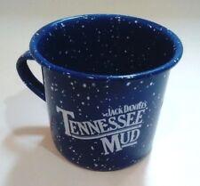 "Jack Daniels ""Tennessee Mud"" Recipe Baked Enamel Tin Cup"
