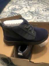 NEW TODDLER BOYS SIZE 12 Navy UGG CANOE CHUKKA BOOTS SHOES WATER RESISTANT