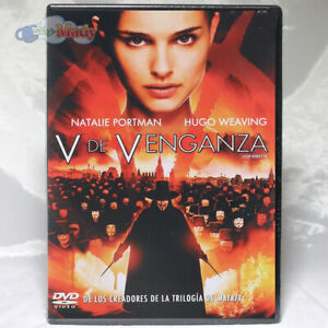 V de Venganza DVD Región 1 y 4