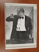 Vtg Wire AP Press Photo Robert Redford Ordinary People Academy Award Oscar #4