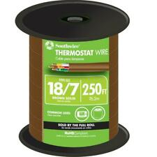 Southwire Solid Cu Cl2 Thermostat Wire 250 Ft 187 Brown