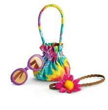 NIB American Girl Doll Julie's Beforever Tie Dyed Accessories Set New!!