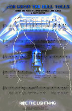 Metallica For Whom The Bell Tolls Art 11 x 17 High Quality Poster