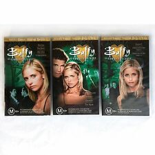 BUFFY the Vampire Slayer VHS Tapes 1999 Complete Season 3 Volume 20, 21, 22