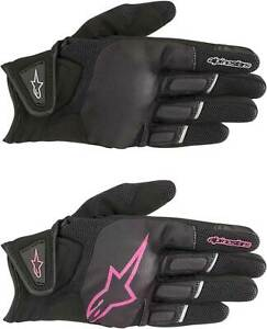 Alpinestars Women's Stella Atom Gloves - Motorcycle Street Riding Touch Screen