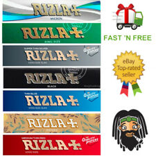 RIZLA Kingsize Large Rolling Papers - Green, Silver, Natura, Black, Red & Micron