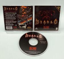 Diablo PC CD-Rom Blizzard Windows 95 1996 RPG Original