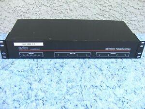 WTI NPS-115 Remote Telnet + Network Power Switch 8x Power Outlets