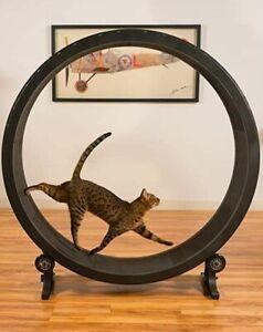 Cat Running Wheel Pet Treadmill Climbing Frame Toy Sport Exercise Active Life