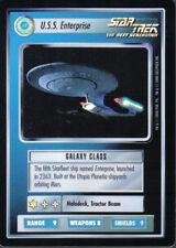 STAR TREK CCG REFLECTIONS SUPER RARE U.S.S. ENTERPRISE