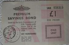 £1 Premium Savings Bond Certificate (Rochdale 1959)