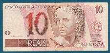 BRÉSIL - 10 REAIS Pick n° 245. de 1999. en TTB   A 9024078015 C