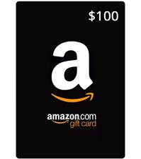 100 dollars Amazon Gift Card unused free shipping