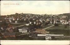 Gardner Center Ma General View c1910 Postcard