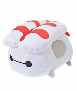 JPN Disney store Limited Tsum Tsum Plush Baymax Middle (M) with Sushi Ver.  NEW