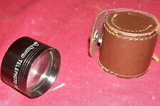 Old Spiratone Telephoto Auxiliary Lens German Camera Photo Photography Vintage