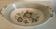 Mason's 'PAYNSLEY' Pattern Oval Serving Bowl/ Vegetable Dish- Ironstone- Rare