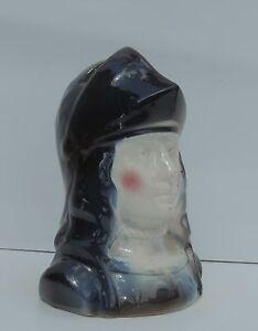 Tirelire JEANNE D'ARC. Céramique polychrome à casser. Années 30.