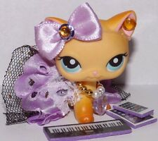 💕Littlest pet shop clothes LPS accessories Custom skirt Bow *Cat NOT INCLUDED*
