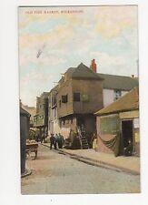 Folkestone, Old Fish Market, Ettlinger Postcard, A702
