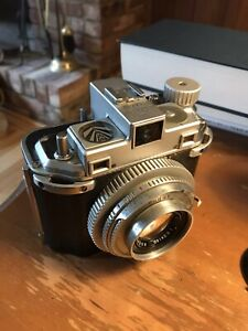 Kodak Medalist II Converted To 120 Film