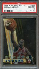 1996 Bowman's Best Best Shots Michael Jordan #BS6 PSA 10 GEM MINT