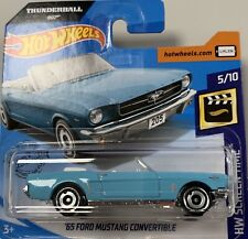 2020 Hot Wheels 65 Ford Mustang Convertible Brand NEW